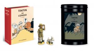 TIM & STRUPPI im Kongo Colorized VO Comic + Pixi Figur + Kaffee mit Dose #B (L)*