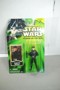 STAR WARS Power of the Jedi  Imperial Officer Actionfigur HASBRO Neu (LR39)