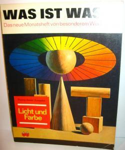WAS IST WAS Nr. 17 Heft  Licht und Farbe   60er Jahre NTV (WR1)