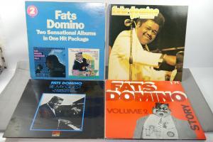 FATS DOMINO 4 verschiedene Schallplatte LP Story Live in Europa  (WR6)