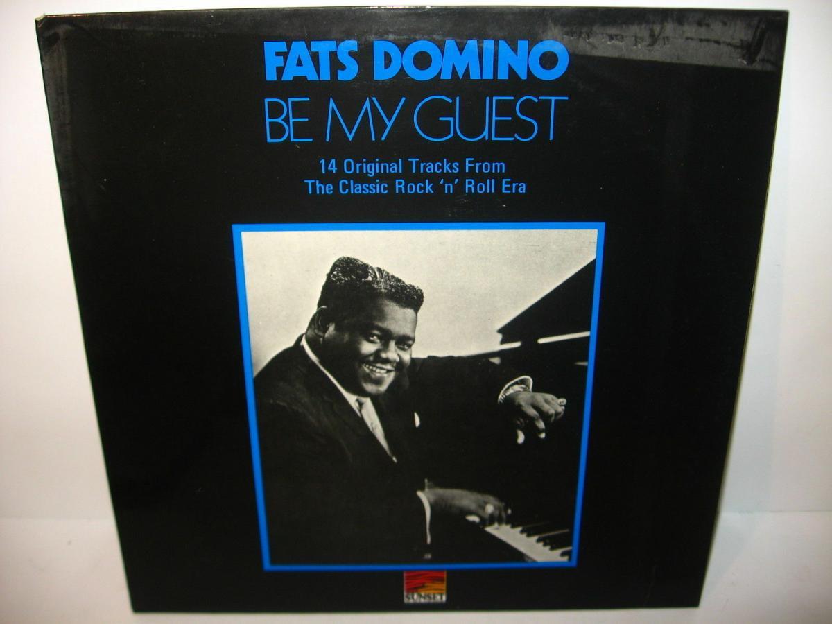 FATS DOMINO 4 verschiedene Schallplatte LP Story Live in Europa  (WR6) 4
