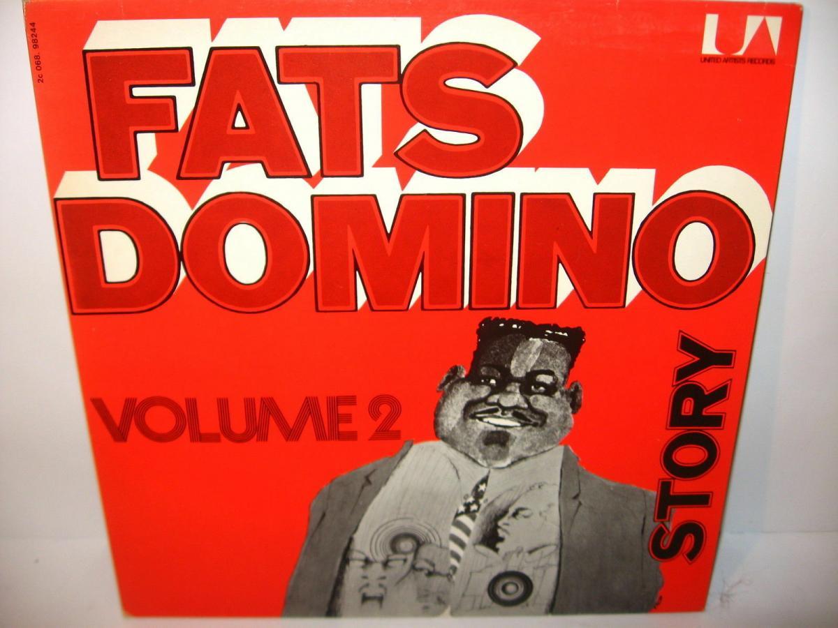 FATS DOMINO 4 verschiedene Schallplatte LP Story Live in Europa  (WR6) 6
