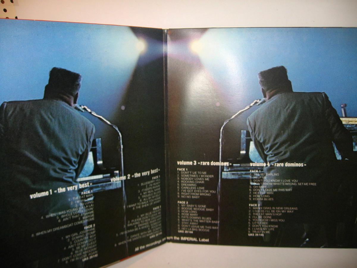 FATS DOMINO 4 verschiedene Schallplatte LP Story Live in Europa  (WR6) 7