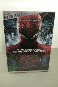 The Amazing Spider - Man Ultimate Hero Pack + Figur exklusiv limitiert  Neu (L)