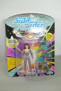 STAR TREK  the Next Generation Lieutenant Commander Deanna Tron ca. 12cm Neu (L)