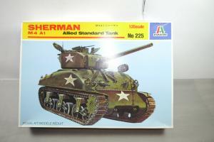 Italeri Sherman M4 A1 Allied Standard Tank 1:35 Nr. 225 mit OVP  (F14)