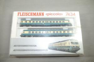 Fleischmann piccolo 7434 Dieseltriebwagen BR 614   Modelleisenbahn Spur N (K41)