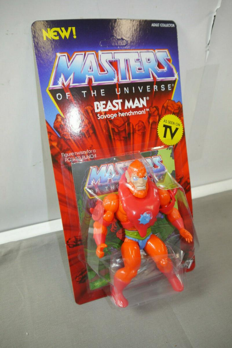MASTERS OF THE UNIVERSE Vintage Collection Beast Man  SUPER 7   (KA8) 1