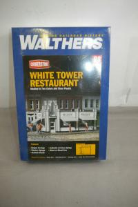 Walthers Cornerstone White Tower Restaurant 933-3030  Modellbausatz H0  ( MF19 )