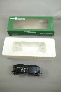 Bowser # 41147 Rutland GLa 2 Bay Hopper Car Road 10024 mit OVP  ( WR4 )