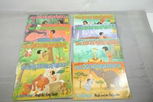 KABA Das Dschungelbuch Disney Werbe Comic Band 1-8 komplett (K11)
