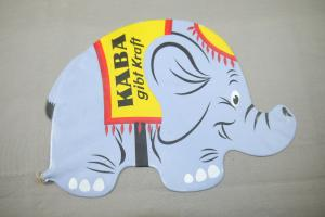 KABA Disney Elefant DUMBO  Werbefigur aufblasbar Gummi  60er - 70er Jahre (K11)