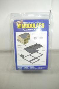 Walthers Cornerstone Modulars Peaked Roof & Base  Bausatz  H0 OVP F5 E