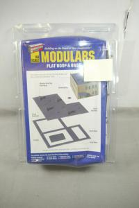 Walthers Cornerstone Modulars Flat Roof & Base  Bausatz  H0 OVP F5 D