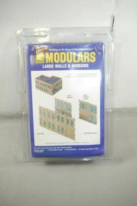 Walthers Cornerstone Modulars Lage Walls & Windows  Bausatz  H0 OVP F5 B