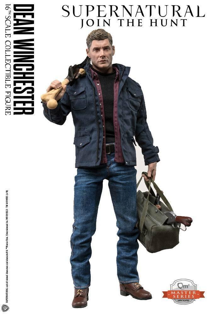 Supernatural Master Series  Dean Winchester Actionfigur 1/6  31 cm QMx (L) 0