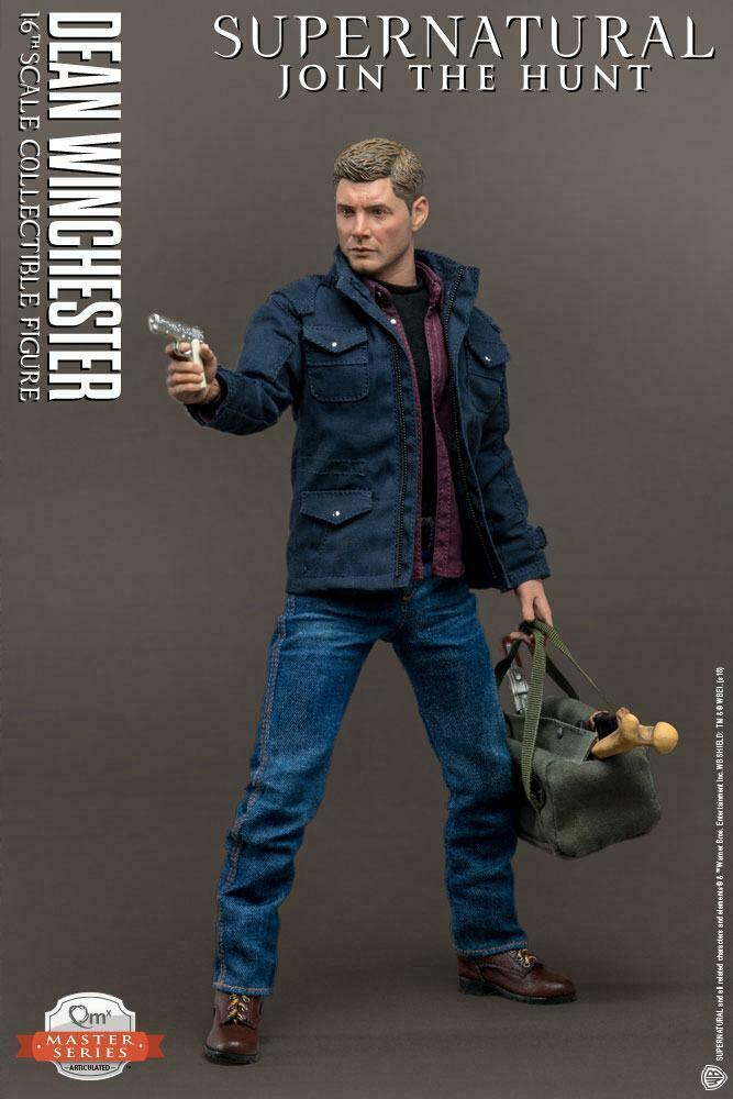 Supernatural Master Series  Dean Winchester Actionfigur 1/6  31 cm QMx (L) 2