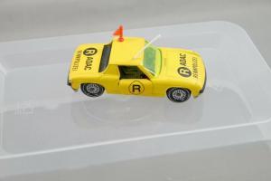 SIKU V312 VW Porsche 914-6 ADAC Rennpolizei  gelbe Scheiben  ca.7,5cm (K27) #07