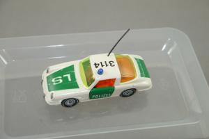 SIKU V 234 Porsche 911 Polizei 3114  gelbe Scheiben Metall  ca.7cm (K27) #05