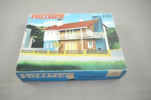 VOLLMER 3720 Zweifamilienhaus   Plastik Modellbausatz H0 (K27)
