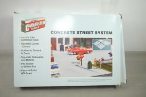 Walthers Cornerstone Concrete Street System  933-3138  H0 1:87 (F2)