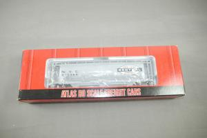 Atlas H0 ACF 3 Bay Cylindrical Hopper #1937-2 NYC #885980 (K11)9