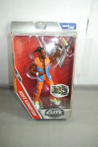 WWE NETWORK Elite Collection  Kofi Kingston Actionfigur MATTEL ca.17cm Neu (L)