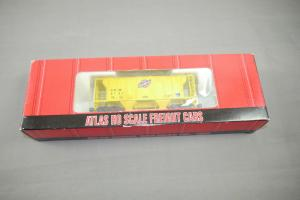 Atlas H0 PS-2, 2 Bay Covered Hopper # 1809 C&NW mit OVP  (K43)