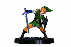 The Legend of Zelda   Link  Statue Figur 25cm  Neu  (L)