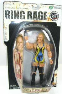 WWE RING RAGE Ruthless Aggression - Jesse Actionfigur JAKKS PACIFIC Neu (L)