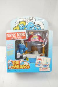 SCHLÜMPFE Smurfs Dippin Diner 2 in 1 Fun Playset  IRWIN  Neu (F4)1