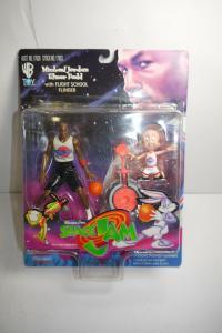 LOONEY TUNES  Michael Jordan Elmer Fudd Space Jam WB Toy Playmates (L)