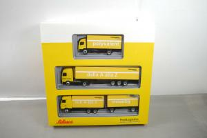 SCHUCO Post Logistics Die Post La Poste La Posta 1:87 in Box  (K47)