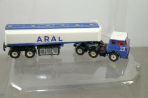 SIKU  V288 Henschel Sattelzug Tankwagen LKW Aral ca.22,5cm (K66) #16