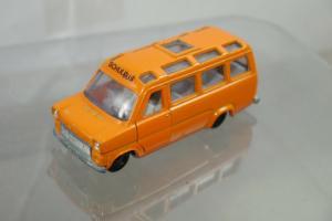 SIKU V334 V264  Ford Transit  Schulbus ca. orange 8,5 cm (K66) #4
