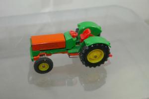 SIKU V287 Traktor grün orange  ca.8 cm (K66) #2