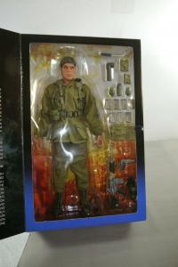 Platoon Willem Dafoe als Sgt. Elias Actionfigur SIDESHOW 1:6 Neu (L)