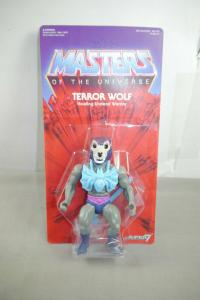 MASTERS OF THE UNIVERSE  Terror Wolf   SUPER 7 14 cm (L)
