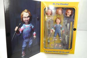 CHUCKY Good Guy's Ultimate Actionfigur in Box NECA ca.10cm NEU (KB4) *