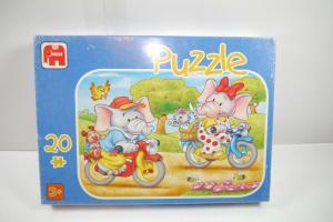 Jumbo  Puzzle Elefanten  021283   20 Teile   NEU   OVP  ( B7 )
