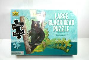 Wild Republic  Black Bear Bär   Puzzle 50  Teile   NEU   OVP  ( B6 )