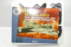 Atlas  Short Stirling  Mk-1 Bomber  1:144 Metall Standmodell  (K43)