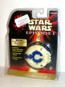 STAR WARS Episode I - Trade Federation Battleship Yo-Yo HASBRO Neu (LR4)