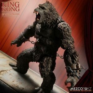 King Kong Actionfigur King Kong of Skull Island 18 cm Mezco Neu (KA10)*