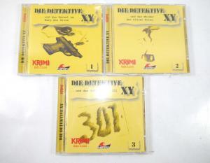 DIE DETEKTIVE XY - Folge 1 2 3 CD Hörspiel KRIMI EDITION Maritim (K36)