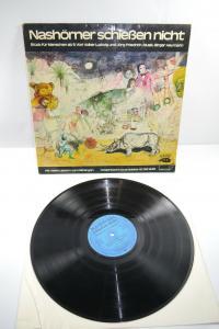 Nashörner schießen nicht Grips   Schallplatte  LP ( WR1