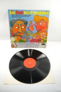 Ein Fest bei Papadakis Grips  Schallplatte  LP   Zustand : gut   (WR1)