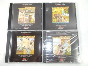 MEISTERDETEKTIV BALDUIN Folge 1 2 3 4 CD Hörspiel WOLFGANG ECKE Maritim (K35)