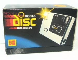 KODAK Disc 4000 Camera AD4R/F-L Kamera - mit Anleitung & OVP (K44)
