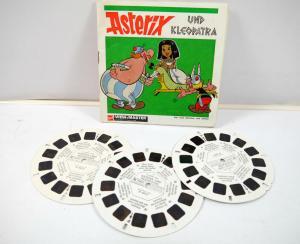 VIEWMASTER Asterix und Kleopatra -  3 Bildscheiben mit Booklet gaf (K60) #P